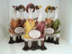 Shudehill Duck Friends Figurines in Three Styles with Friends Messages 85072